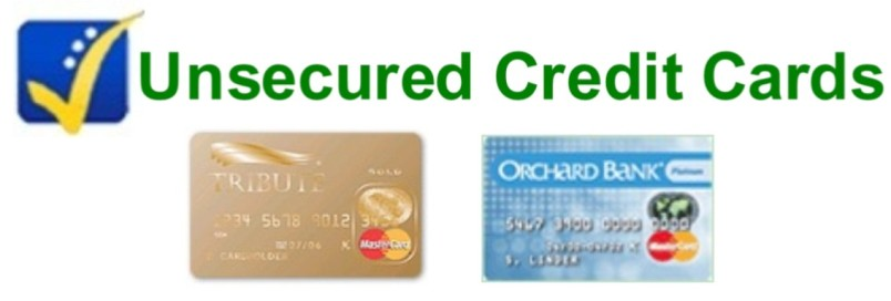 bad credit unsecured credit card: